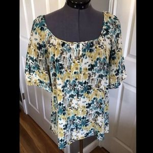 Halogen Silk Blouse - Medium- Fits Like A Large